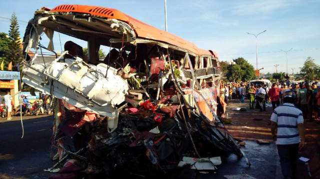 29 die in crashes on first day of New Year holiday in Vietnam
