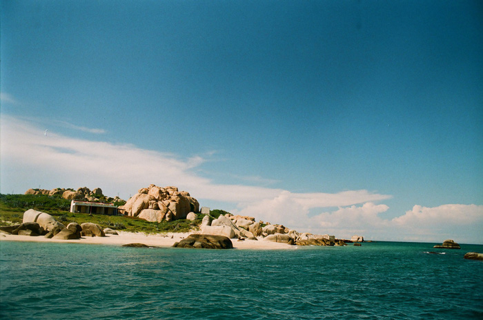 Cu Lao Cau is situated in Tuy Phong District, Binh Thuan Province, 300km from Ho Chi Minh City. Photo: Tuoi Tre