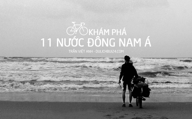 Vietnamese guy cycles across Southeast Asia to raise charity funds