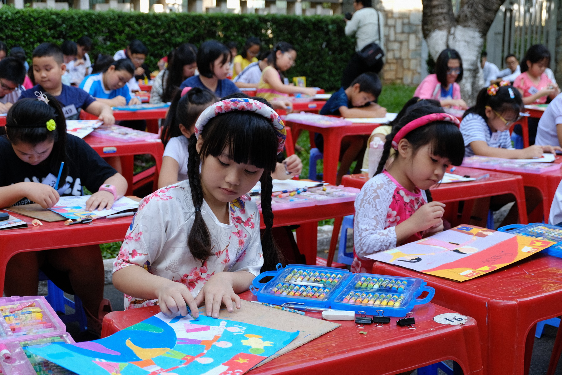 ​Children's painting contest held to celebrate 45th anniversary of Vietnamese-Singaporean diplomatic relations