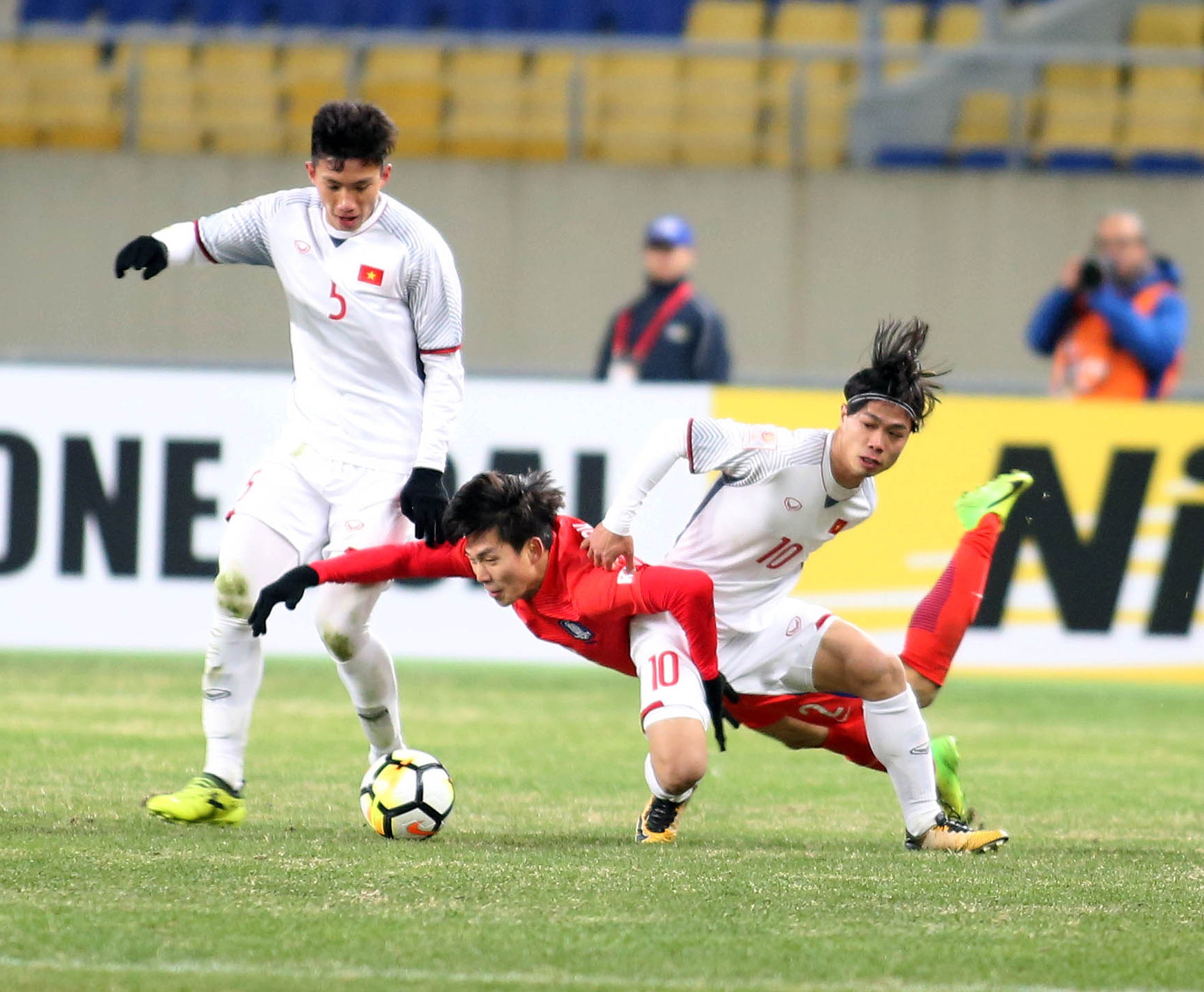 Vietnam post loss to South Korea in well-fought opener at Asia U-23 championship