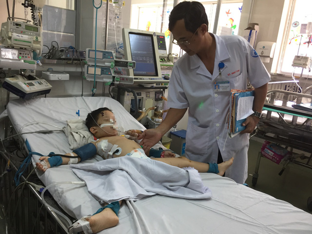Vietnamese boys hospitalized after being attacked by family dogs