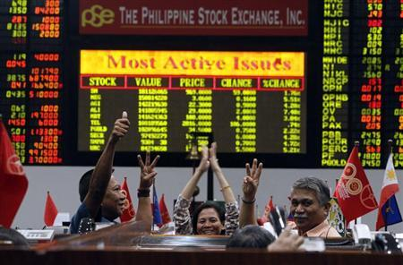 SE Asia Stocks-Philippine index hits record close; Vietnam at over 10-yr top