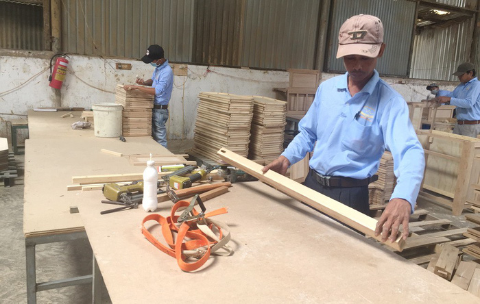 Vietnamese export of wood, wooden products surpasses expectations in 2017