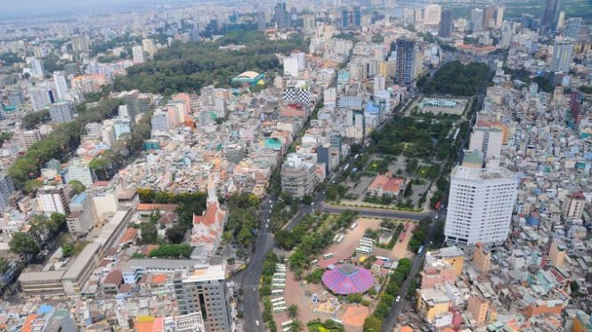 Commercial activities in downtown Ho Chi Minh City park likely to be halted