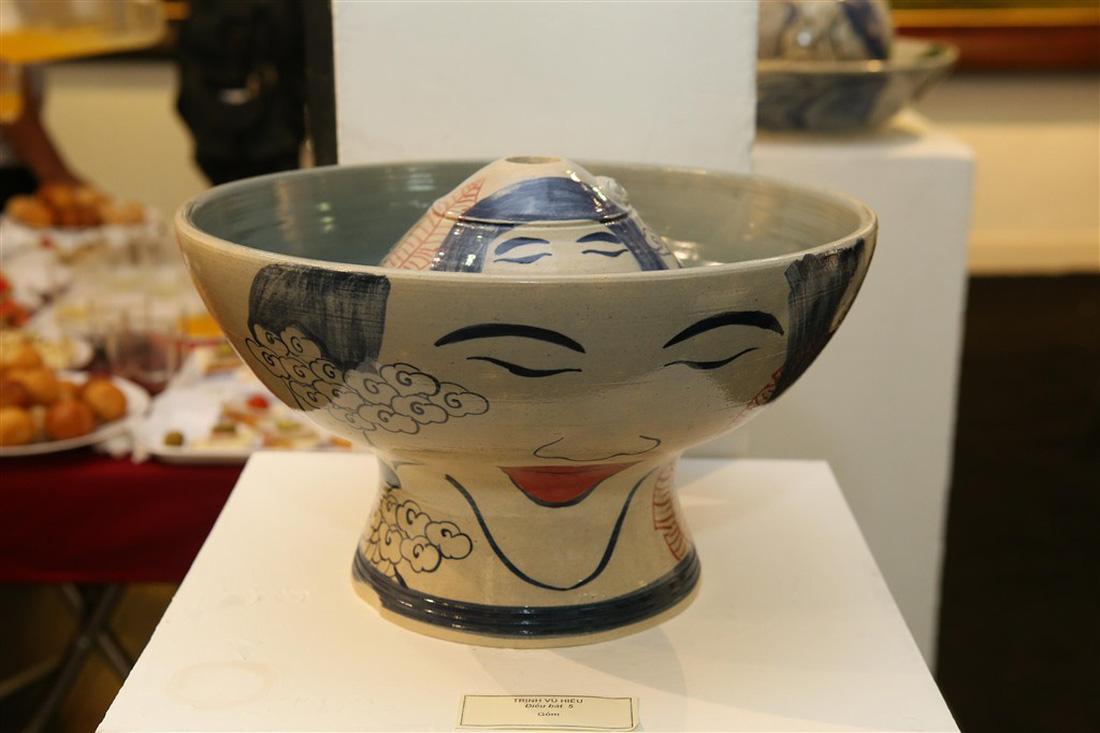 A ceramic byTrinh Vu Hieu, G39. Photo: Tuoi Tre
