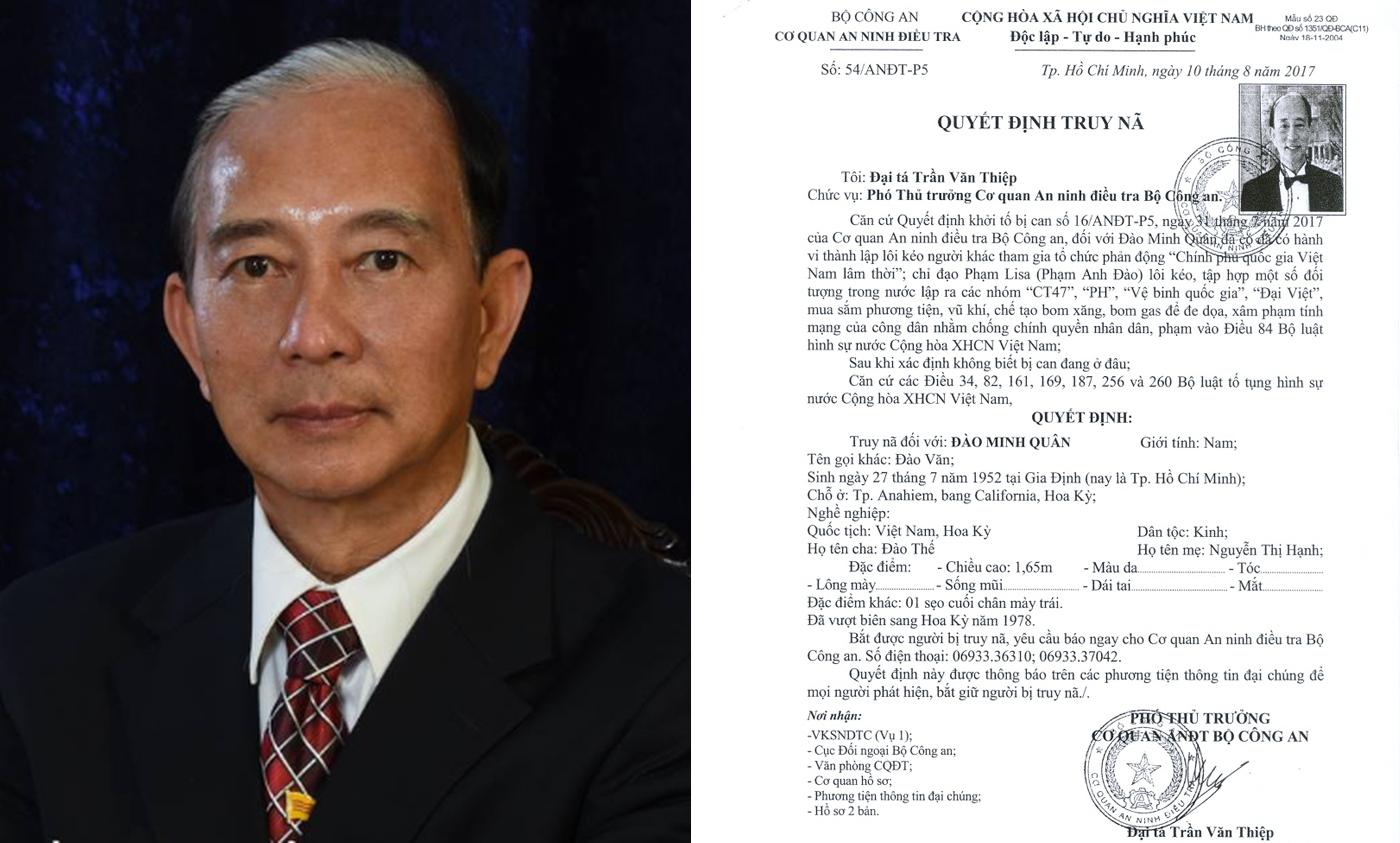 Vietnamese police list US-based group as terrorist organization
