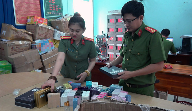 Facility making fake perfume from Chinese chemicals busted in Ho Chi Minh City