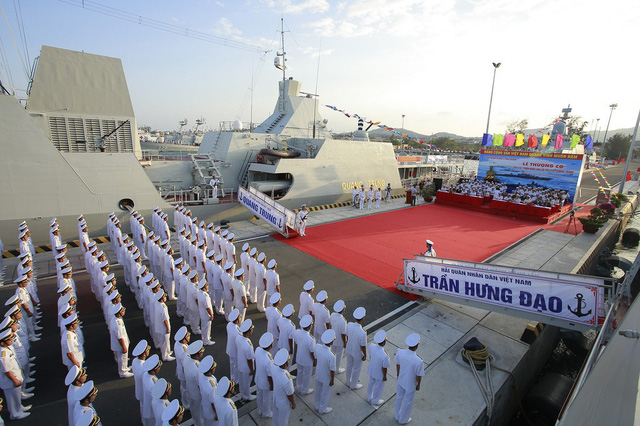 ​Vietnam hoists flags on two missile escort warships