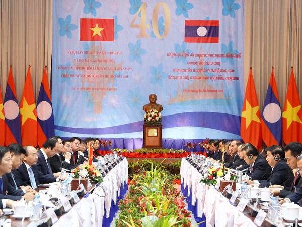 Vietnam, Laos tighten cooperation via inter-governmental committee