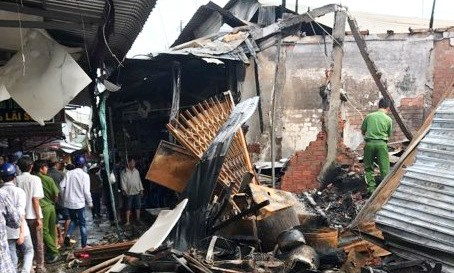 ​Two dead in market fire in southern Vietnam