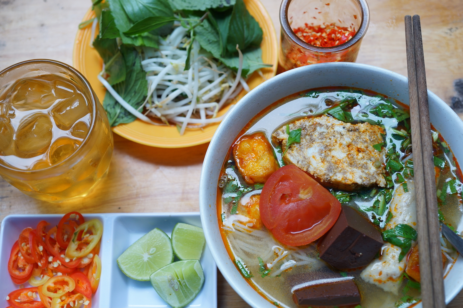 ​Among many noodle dishes in Saigon, 'bun rieu' exactly is what the doctor ordered