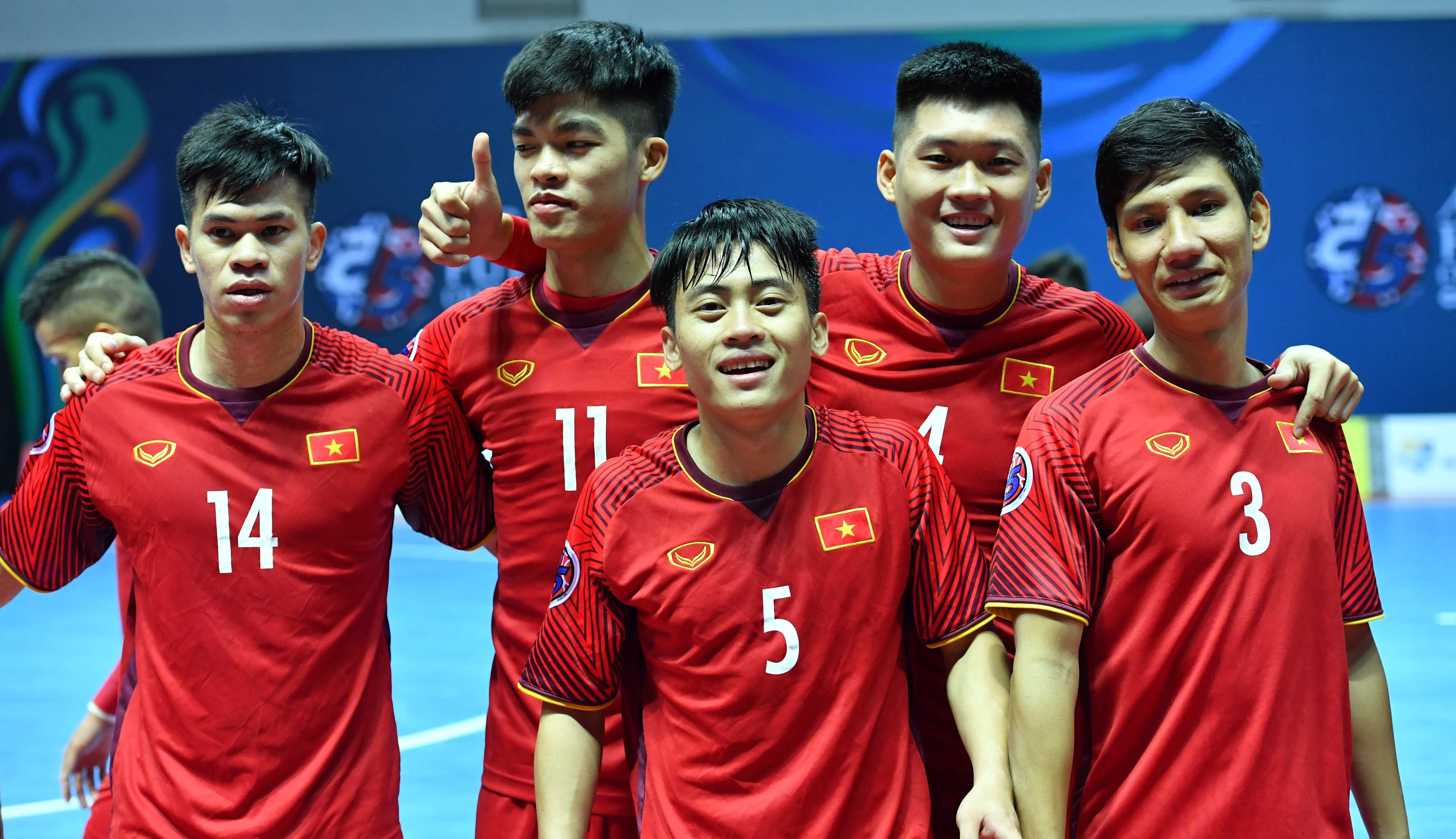 ​Vietnam eager to take on Uzbekistan in AFC Futsal Championship quarters