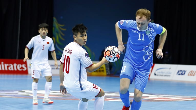 Vietnam end journey at AFC Futsal Championship with quarterfinal loss to Uzbekistan