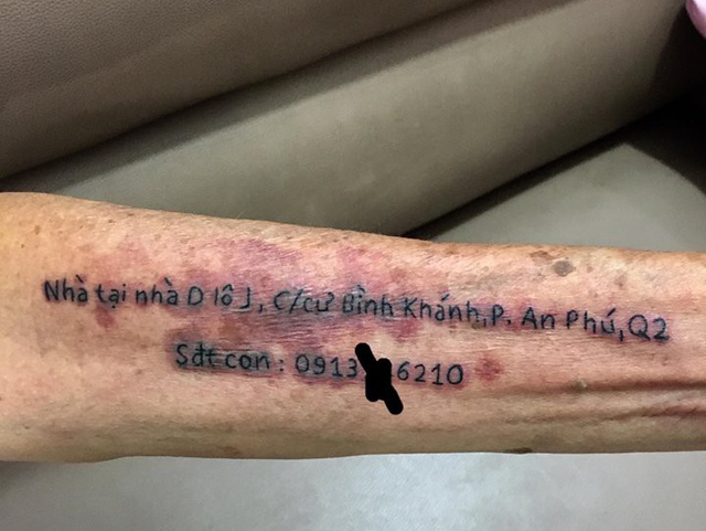 You won't believe the story behind this 72-yr-old man's tattoo