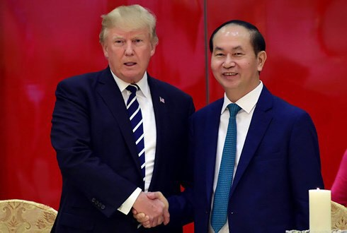 US President Donald Trump sends Lunar New Year wishes to Vietnamese people