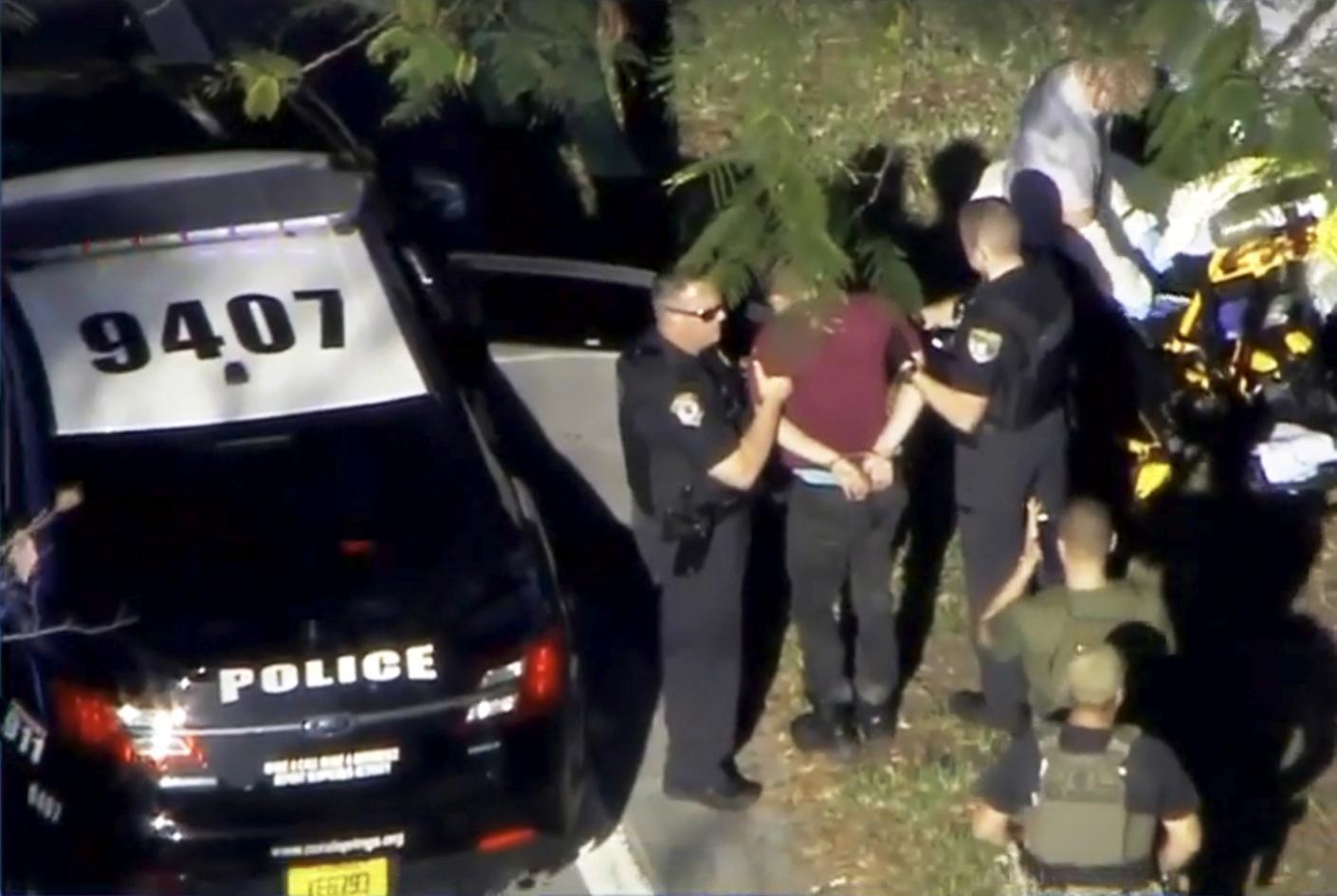 Ex-student arrested after 17 shot dead at Florida high school