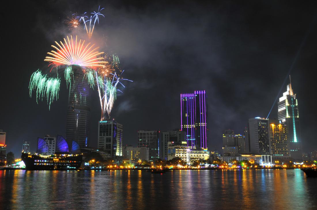 Evolution of Tet fireworks in Ho Chi Minh City