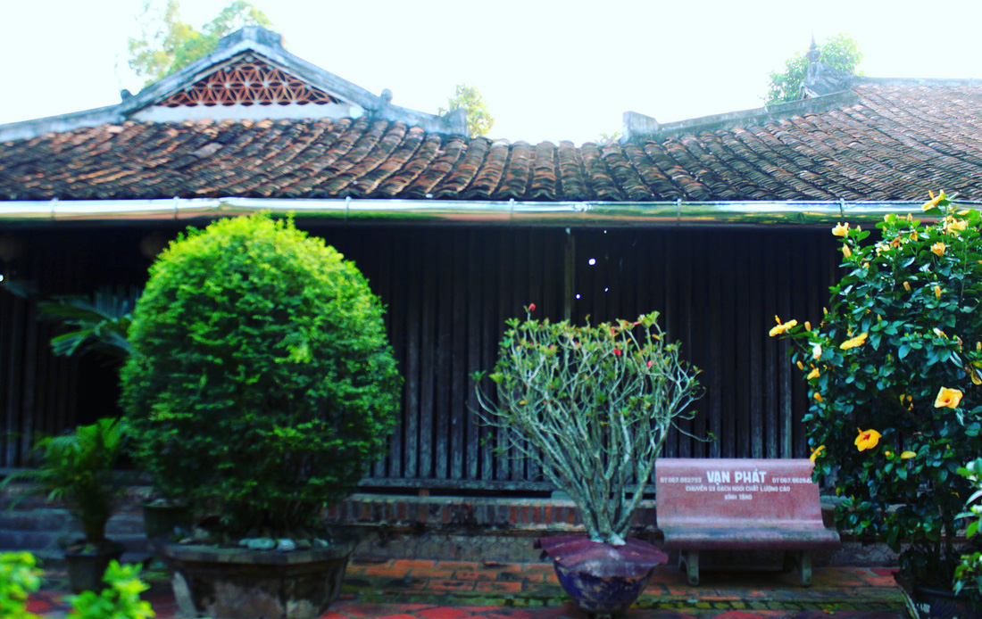 Mr. Kiet's ancient house's design is more typical of northern Vietnam. Photo: Tuoi Tre