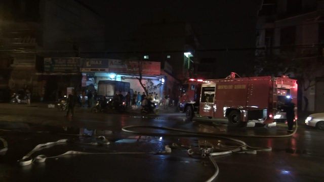 Fire engulfs VPBank office in north-central Vietnam