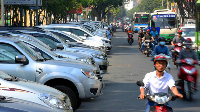 ​Ho Chi Minh City plans higher fees for on-street parking
