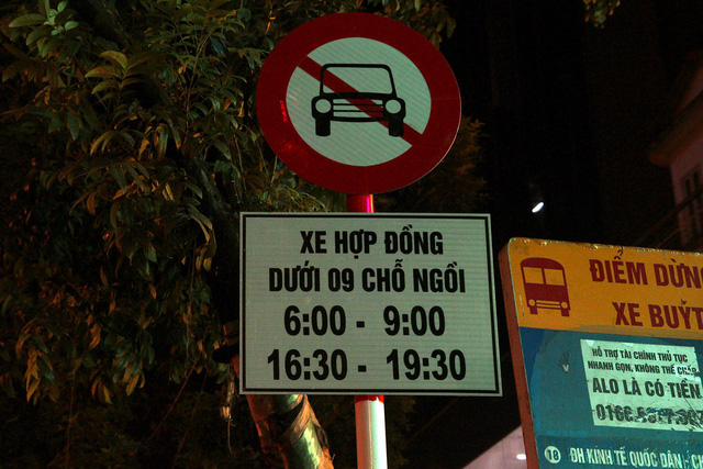 ​Hanoi bans contract-based vehicles, including Grab and Uber, on multiple streets