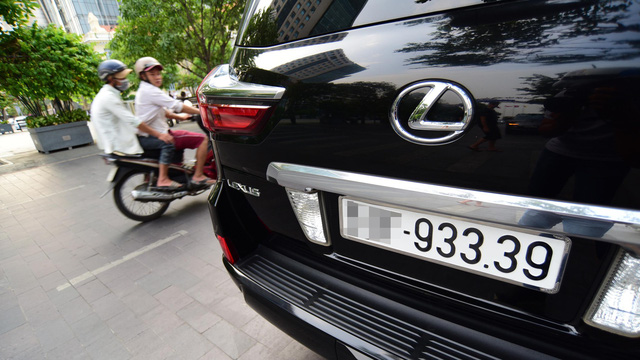 Vietnam ministry seeks approval for license plate number auction