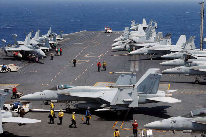Aircraft carrier visit to boost Vietnam-US ties: foreign ministry spokesperson