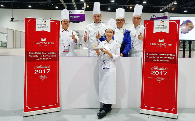 A culinary inspiration from a WorldSkills-awarded Vietnamese