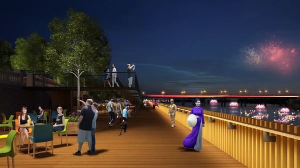 Hue to pave walkway by iconic river with rare, expensive ironwood