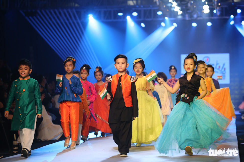 Little models shine at Fashion Week in Ho Chi Minh City