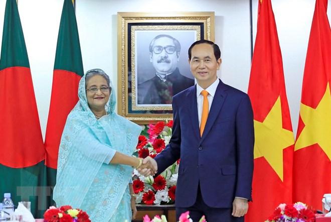 Vietnam, Bangladesh target double bilateral trade by 2020