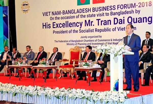 Vietnamese president encourages investment into Bangladesh