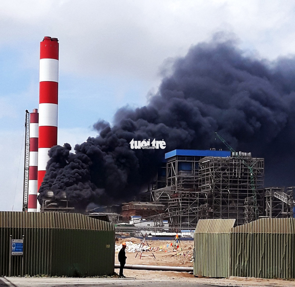 ​Fire erupts at thermal power station in southern Vietnam