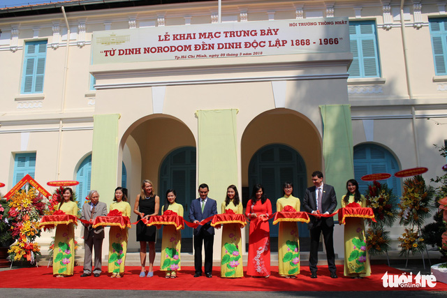 Exhibition on history of Independence Palace held in Ho Chi Minh City