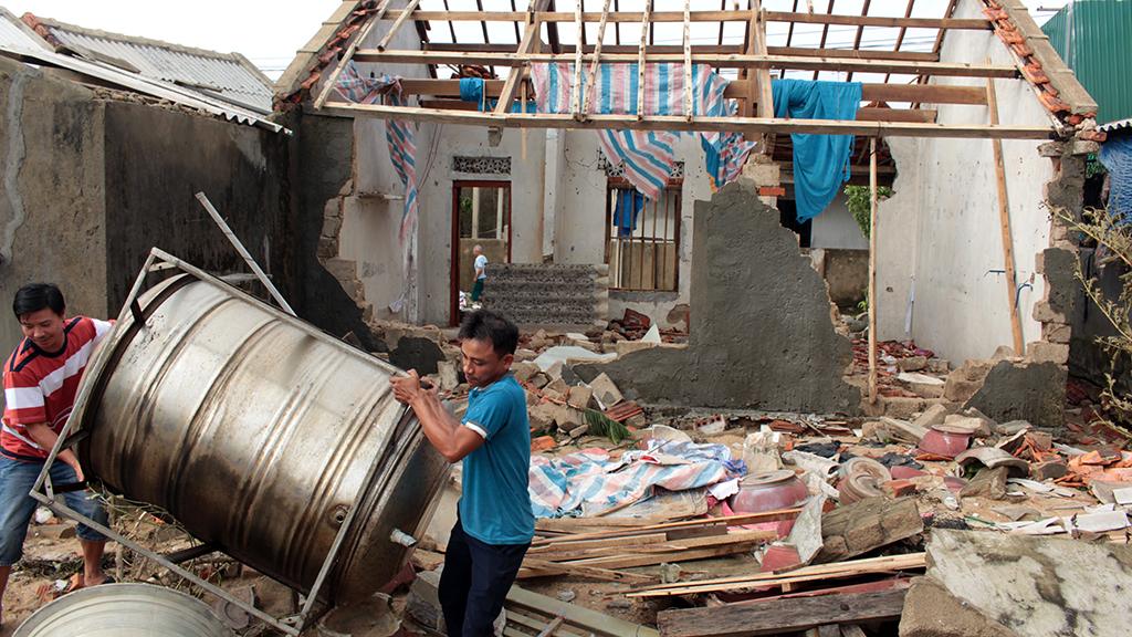 Vietnam and U.N. to build storm-proof housing for coastal communities