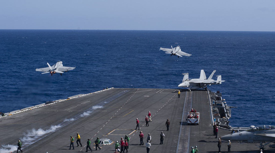 Story from aboard aircraft carrier USS Carl Vinson, which will visit Vietnam