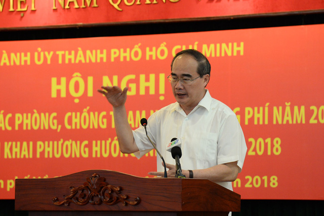 Ho Chi Minh City leader urges changes to anti-corruption efforts