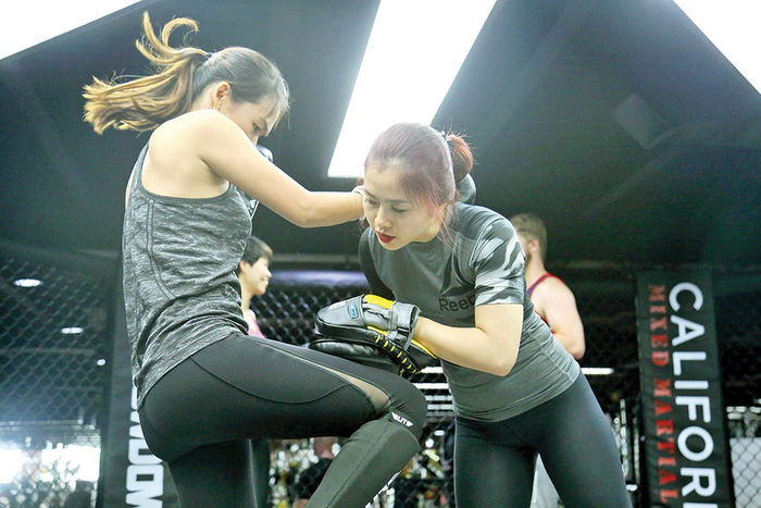 ​Vietnamese women increasingly present in men's sport preserve