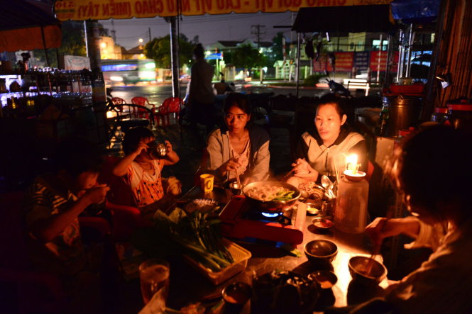 Power outage in Vietnam