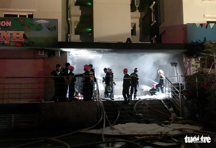 13 dead, 28 injured in Saigon apartment fire