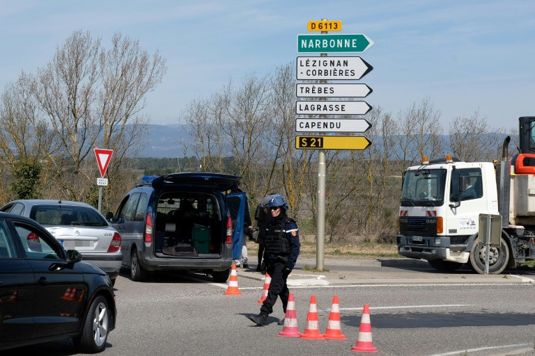 Three dead in IS-claimed French shooting and siege