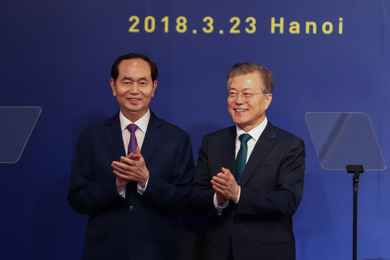 ​Vietnam, South Korea agree to do $100 billion in bilateral trade by 2020