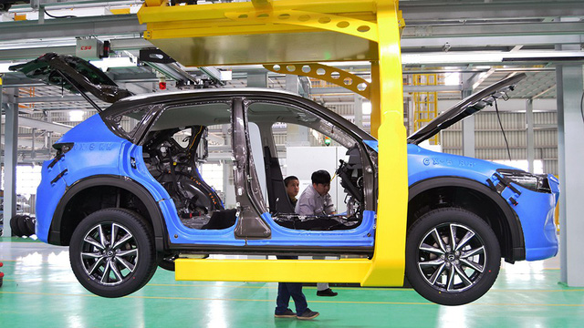 Japan's Mazda opens largest Southeast Asia factory in Vietnam