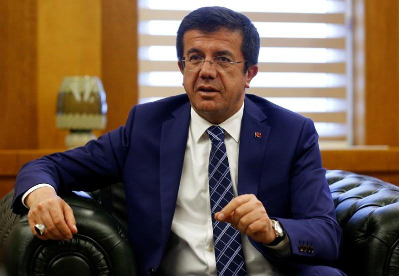 Turkey's exports hit record $15.1 billion in March: economy minister