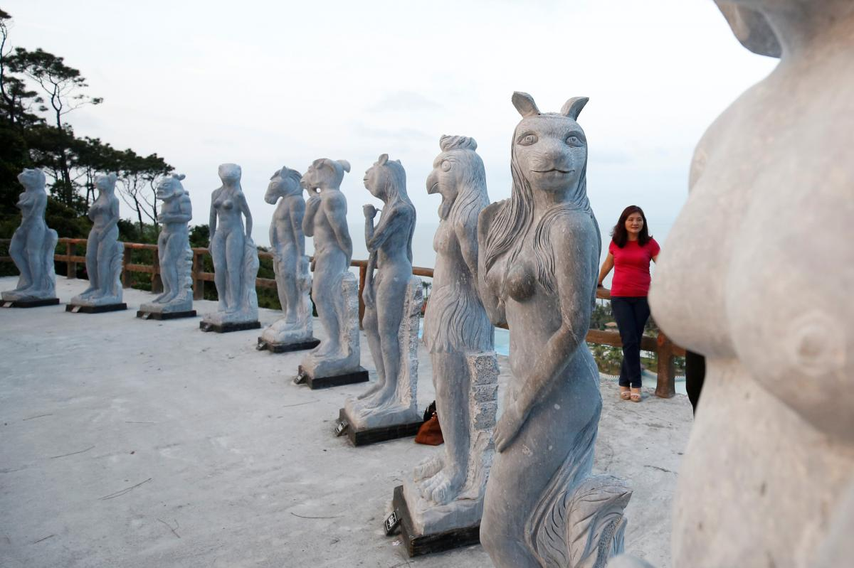Vietnam warns against 'inappropriate' statues after nude sculpture cover-up