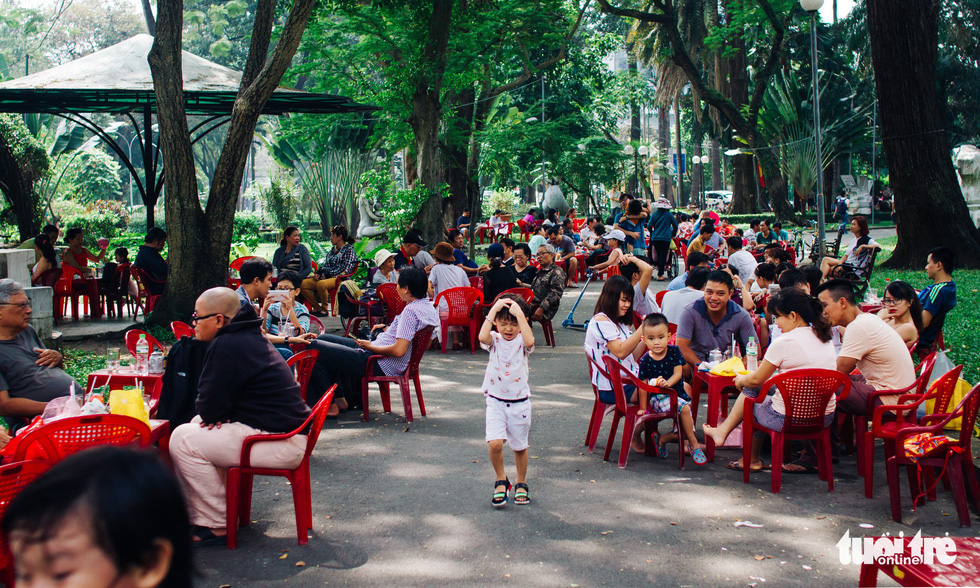 Public parks warped for commercial use in Ho Chi Minh City