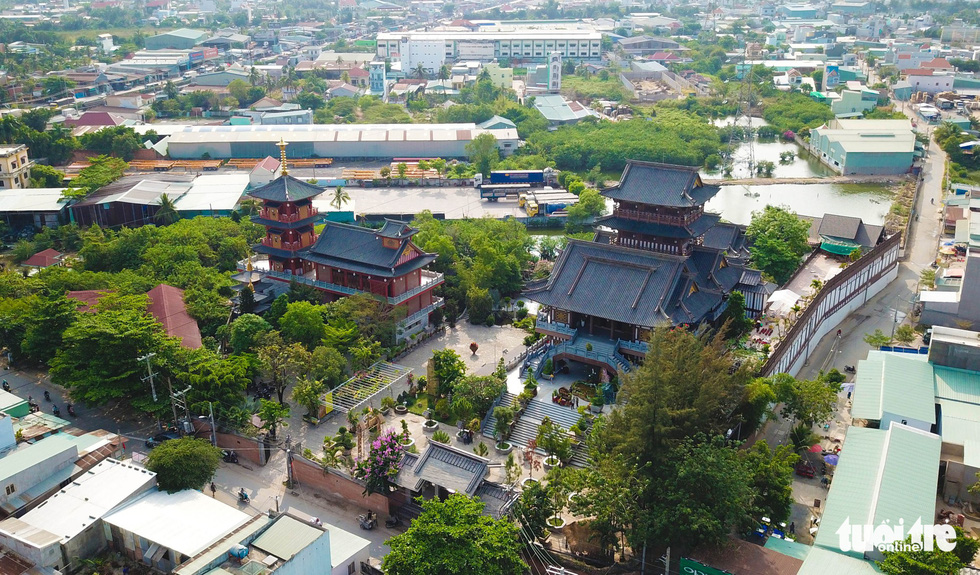 Japanese-style monastery a new destination for religious followers, visitors in Saigon
