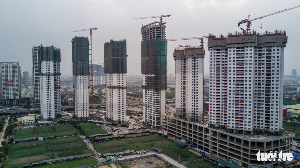 Apartment projects mushrooming in Hanoi