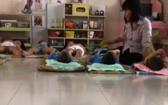In Vietnam, kindergarten teacher suspended for hitting student
